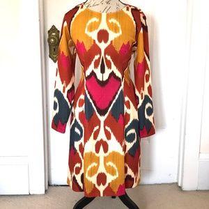 NWT Josie Natori PERFECT AUTUMN DRESS size 14